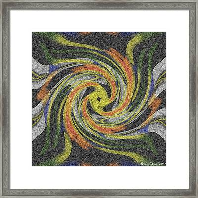 Spread Your Wings Tile Framed Print by Brian Johnson