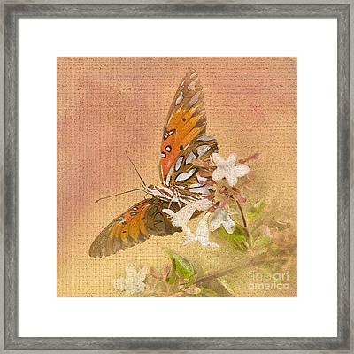 Spreading My Wings Framed Print by Betty LaRue