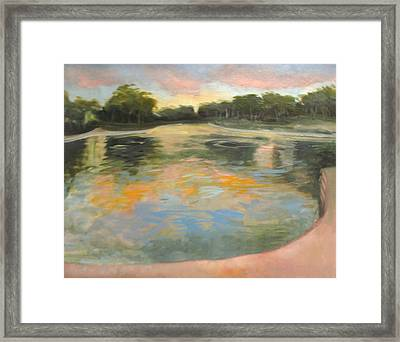 Spreckles Lake Framed Print