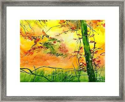 Spring 1 Framed Print by Anil Nene
