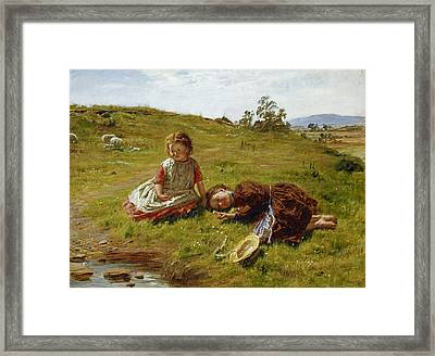 Spring Framed Print by William McTaggart