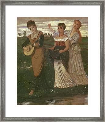 Spring, 1876 Framed Print