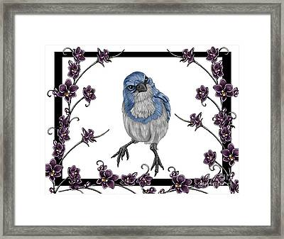 Spring 2 Framed Print by Karen Sheltrown