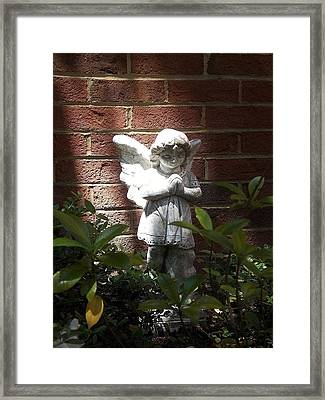 Angel Of Hope Framed Print