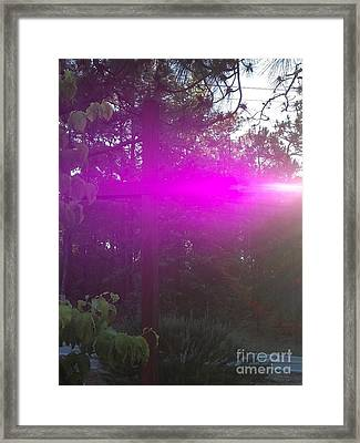 Holy Spirit At Sunrise  Framed Print