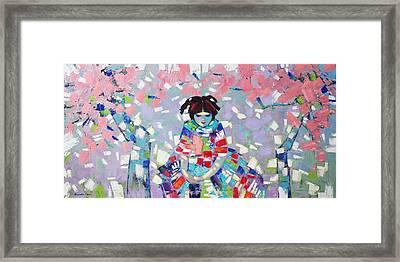 Spring Framed Print by Anastasija Kraineva