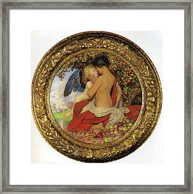 Spring And Autumn Framed Print