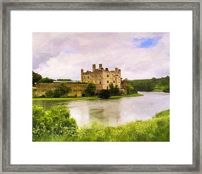 Spring At Leeds Castle Framed Print by Mark E Tisdale