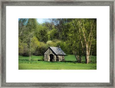 Spring At Morris Arboretum Framed Print