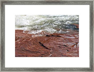 Spring At Sedona In Spring Framed Print