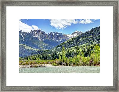 Spring At Silver Jack Framed Print by Bob Hislop