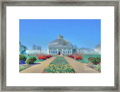 Spring At The Gardens Framed Print by Kathleen Struckle
