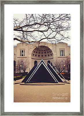 Spring At The Shoe Framed Print by Rachel Barrett