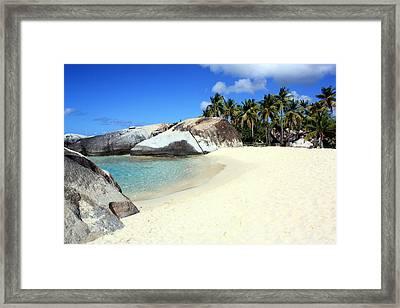 Spring Bay Virgin Gorda Framed Print