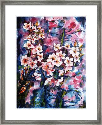 Spring Beauty Framed Print by Zaira Dzhaubaeva