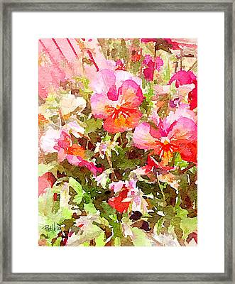 Spring Begins Framed Print by Jim Pavelle