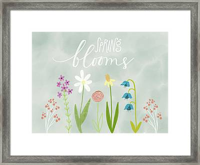 Spring Blooms Framed Print by Katie Doucette