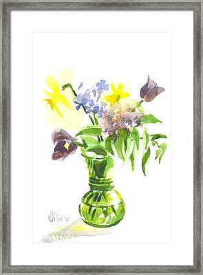Spring Bouquet IIi Framed Print by Kip DeVore