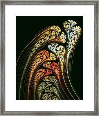 Spring Bulbs Framed Print