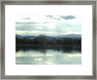 Spring Chill Framed Print