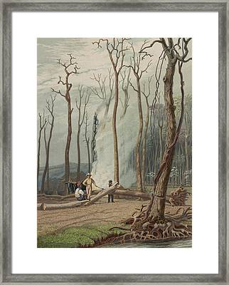 Spring Circa 1841 Framed Print by Aged Pixel