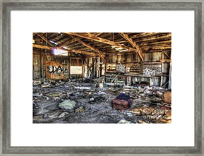 Spring Cleaning Framed Print by Eddie Yerkish