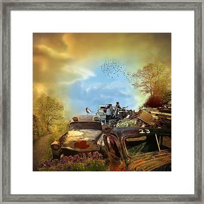 Spring Cleaning - Landscape Framed Print