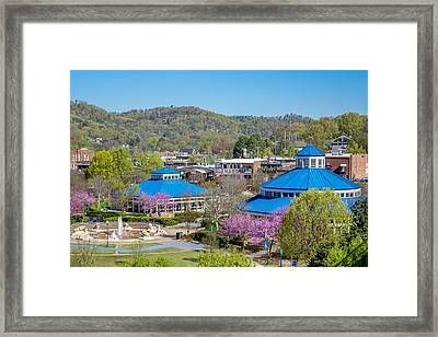 Spring Coolidge Park Framed Print by Tom and Pat Cory