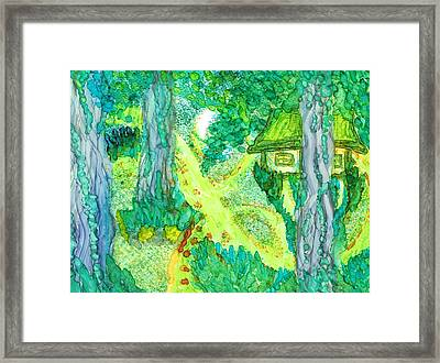 Spring Cottage Too Framed Print