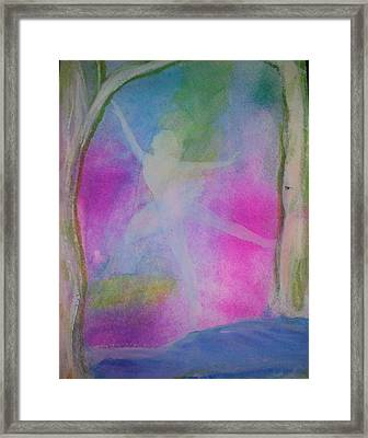 Spring Dance Framed Print