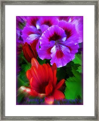 Spring Framed Print by Deahn      Benware