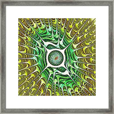 Spring Dragon Eye Framed Print by Anastasiya Malakhova