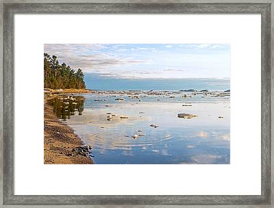 Spring Evening  Framed Print