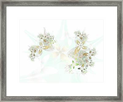 Spring Fades Framed Print by Sharon Lisa Clarke