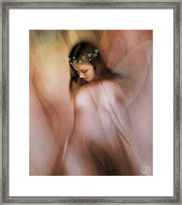 Spring Fairy Framed Print by Gun Legler