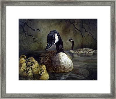 Spring Family Framed Print by Gregory Perillo