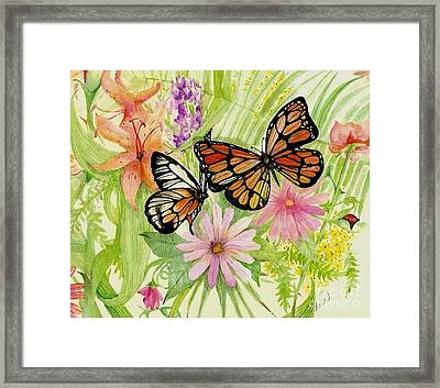 Spring Fancy Framed Print by Laneea Tolley