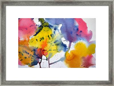 Framed Print featuring the painting Spring Fling by Joan Hartenstein