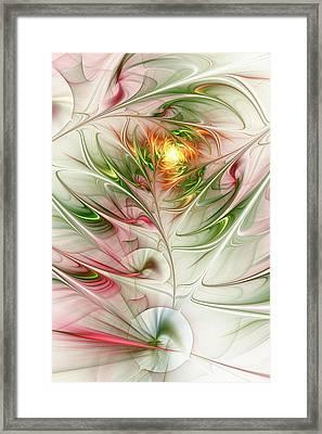 Spring Flower Framed Print by Anastasiya Malakhova