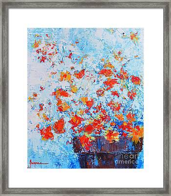 Spring Flowers Iv Framed Print