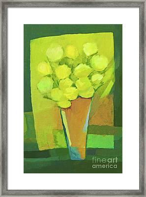 Spring Flowers Framed Print by Lutz Baar