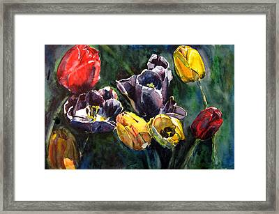 Spring Follows Winter Framed Print