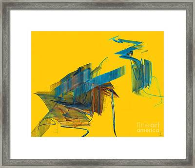 Spring Force Framed Print