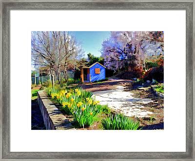 Spring Garden Framed Print by Paul Svensen