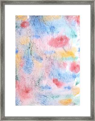 Spring Garden Framed Print by Susan  Dimitrakopoulos