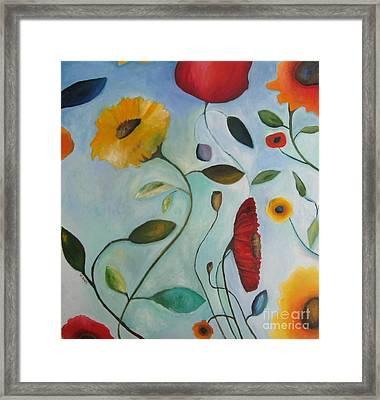 Spring Garden Framed Print by Venus