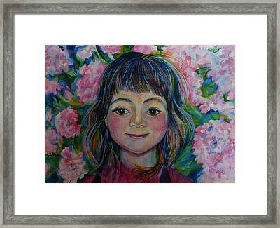 Spring Girls. Part One Framed Print by Anna  Duyunova
