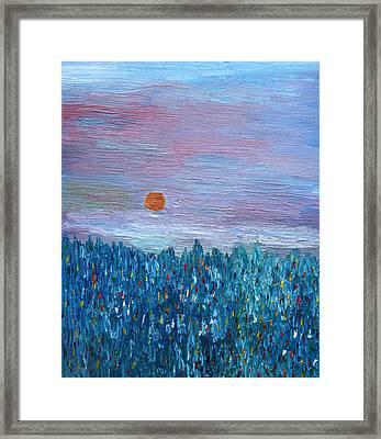 Spring Glimpse Framed Print