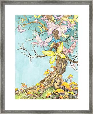 Spring Growth Framed Print by Priscilla  Jo