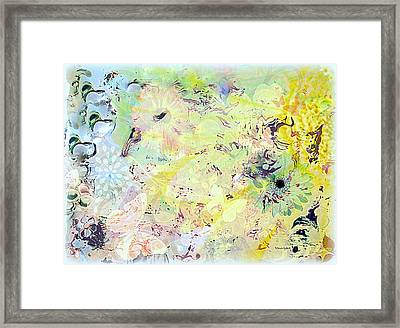 Spring Happiness Framed Print by YoMamaBird Rhonda